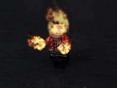 Firestorm (CW-Verse) (MrKjito) Tags: lego minfig firestorm ronnie raymond super hero dc comic comics flash tv cw meta human fire dna splicing
