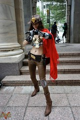 Dragoncon 2016 Cosplay (V Threepio) Tags: dragoncon2016 cosplay costume photography photoshoot posing sonya7r 2870mm unedited unretouched fantasy scifi comiccon dressup atlanta outfit modeling geekculture comics dc2016 girl female bamf gun redcape cowboyhat holster