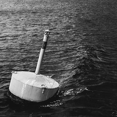 Buoy (Jonne Naarala) Tags: 1x1 bw finland gr kallavesi ricohgr buoy
