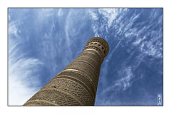 Kalyan minaret (alamond) Tags: kalyan minaret bukhara uzbekistan tower architecture islamic mosque tiles canon 7d markii mkii llens ef 1740 f4 l usm alamond brane zalar