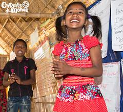 Sourires d'enfants/ Kinderlcheln (Enfants du Monde) Tags: enfantsdumonde projetsenfantsdumonde edm edmch sourire smile lcheln bangladesh bangladesch kind kid child enfant fille girl mdchen