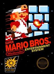 # 1 - Super Mario Bros. (Hobbycorner) Tags: mario luigi nes nintendo 1985 bowser toadstool princess kingdom game gaming cartridge
