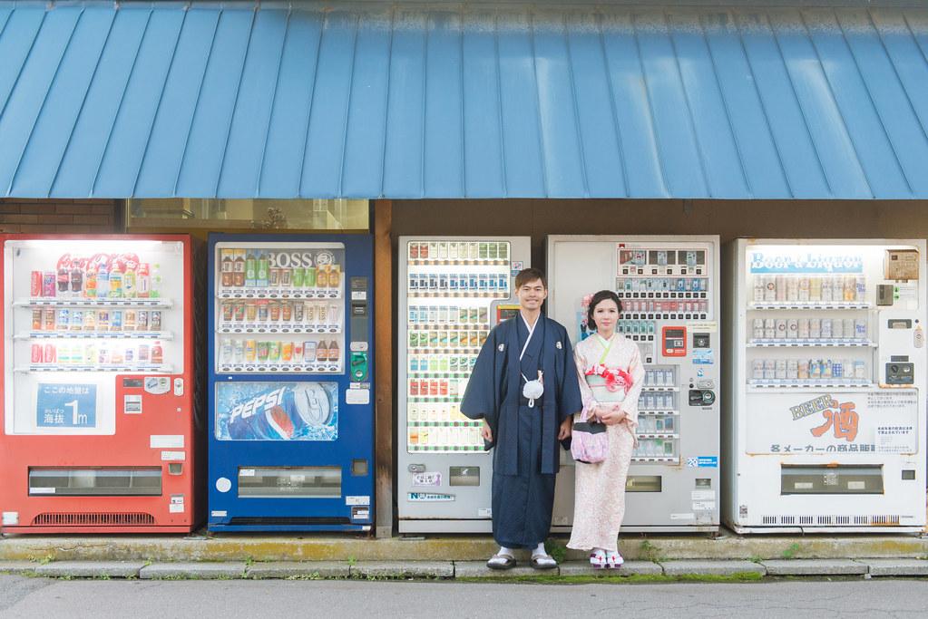 日本北海道婚紗,函館婚紗,和服婚紗,販賣機婚紗,日式風格婚紗,海外婚紗