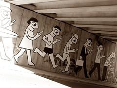 Tecnologia (ndreia) Tags: sonydschx200v portugal algarve lagos 2016 sepia spia arteurbana art arte streetart