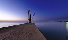 Light vs darkness (and641) Tags: nikond5100 landscape waterscape seascape longexposure wideangle sunrise greece naxos moutsouna cyclades island sky blue tokinaaf1116mmf28