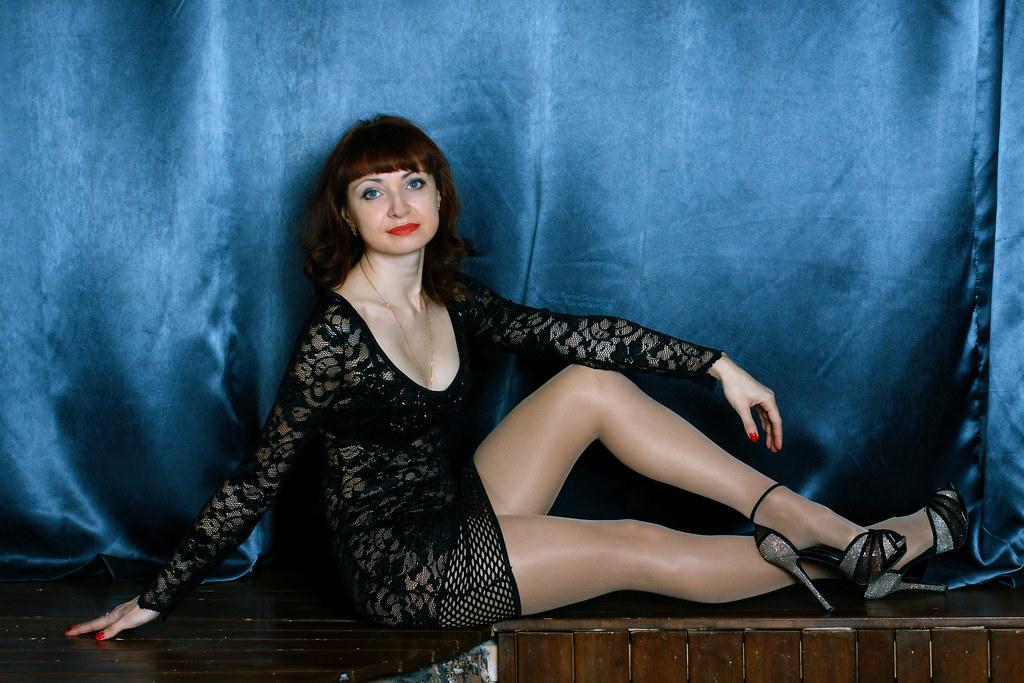 The valuable black shiny pantyhose heels skirt