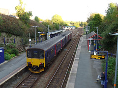 150121 Liskeard (1) (Marky7890) Tags: gwr 150121 class150 sprinter dmu 2g78 liskeard railway cornwall train