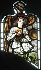 [45617] St Editha, Tamworth : Musician (Budby) Tags: tamworth staffordshire church window stainedglass preraphaelite