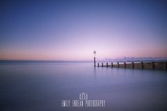 Serenity.... (Emily_Endean_Photography) Tags: beach longexposure boscombe bournemouth groin coast lee filter bigstopper nikon dorset sea seascape