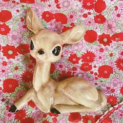 X (nicholefeckanin) Tags: babydeer fawn doeeyed cute woodlandcreature deerfigurine vintagedecor homedecor vintage ceramics deer kawaii