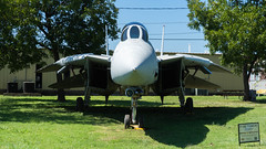 DSC00030 (HeyItzDucky) Tags: airplane museum retired out comission american america fort worth texas jet jets crafts helicoptors helicoptor engine black white old vintage classic aeroplanes steel iron aluminium aluminum rudder history wide panoramic panorama gilded gild propellor
