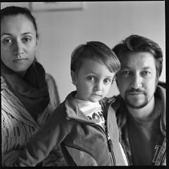 Italians (giancarlo rado) Tags: famiglia hasselblad planar10035 bn bw ilford portrait ritratto