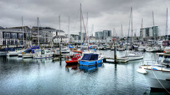 Barbican, Plymouth ii (Paul.Y-D) Tags: barbican plymouth harbour hdr photomatix