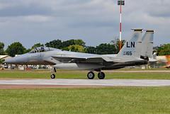86-0165 (GH@BHD) Tags: 860165 mcdonnelldouglas f15 f15c eagle usaf unitedstatesairforce raffairford fairford riat riat2016 royalinternationalairtattoo aircraft aviation military strikeaircraft fighter