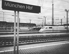 #Mnchen Hauptbahnhof (German for Munich main railway station) is the main railway station in the city of #Munich, #Germany. The first Munich station was built in 1839. -wiki  @deutschebahn #bahnhof #Europe #Travel #train #frozenmemories #traintravelling (Zabeeh_India) Tags: instagramapp square squareformat iphoneography uploaded:by=instagram moon