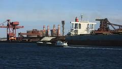 Bassin Maritime (jptaverne) Tags: port pniche boat capelily portuaire industriallandscape