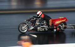 Sledgehammer 2 (Fast an' Bulbous) Tags: drag race bike motorcycle moto fast speed acceleration santa pod england biker rider nikon d7100 gimp outdoor