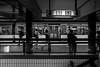 S1 S3 / ... and life never stops ... (Özgür Gürgey) Tags: 2016 20mm bw d750 darkcity hamburg jungfernstieg nikon s1 s3 voigtländer blur motion station street subway germany