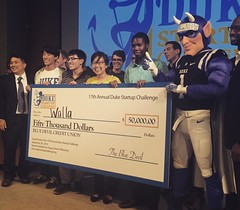 Congratulations to Walla and Founder Judy Zhu (P'17) on winning the 2016 Duke Startup Challenge! (Duke University) Tags: ifttt instagram duke university