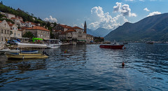 DSC04223-2 (UmitCukurel) Tags: kotor montenegro boat sea cloud island chapel sony sonyalpha summer