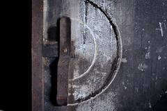 Memory's door (hutchphotography2020) Tags: steeldoor weathered doorhandle grunge nikon