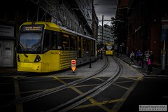 ManchesterVictoria2016.10.09-32 (Robert Mann MA Photography) Tags: manchester manchestervictoria manchestercitycentre greatermanchester england victoria victoriastation manchestervictoriastation manchestervictoriarailstation victoriarailstation city cities citycentre architecture summer 2016 sunday 9thoctober2016 manchestermetrolink metrolink trams tram nightscape nightscapes night light lighttrails