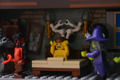 Night Terrors (Gunner S Lego) Tags: house haunted halloween ghost witch devil horror lego