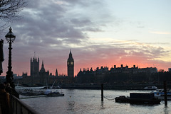 Evening (MrHRdg) Tags: bigben housesofparliament london riverthames southbank sunset westminsterpalace freeassociation