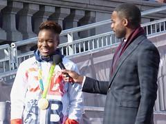 Nicola Adams and Ore Oduba (Suede Bicycle) Tags: olympics rio rioolympics rio2016 olympicgames heroeswelcome trafalgarsquare summerolympics olympicparade paralympics rioparalympics