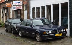 1996 FIAT Tipo 1.4 I.E & 1986 BMW 735i (peterolthof) Tags: leeuwarden peterolthof njrr31 fiat tipo 63rhs5 bmw 735