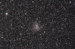 Pacman Nebula (145 subs) (northern_nights) Tags: 100v10f pacmannebula nebula stars sky astrophoto nikond7100 nikon180mmf28