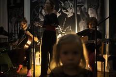 the show... (f_lynx) Tags: sonya7 sonyfe282 flynx masha marta mariaatroshenko zoya band  cello guitar artist art singer painter girl guy kid fun light dark hair microphone moscow russia shadows 2x3 music  concert