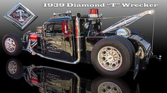1939 Diamond T Wrecker - 05 (Bob Kolton Photography) Tags: automotive autos automobiles antique bobkoltonphotography biloxi cars car classic classiccars canong1x cruisinthecoast hdr hotcars licenseplates plates tags