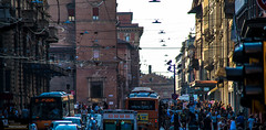 Italy-  Bologna  53  Wired (White Shadow 56) Tags: bagnidiluccaitaly2016pizzamountainsvillatravelpisaromebolognatuscanyitaly villages contrast color brick stone marble tile nikon d600 tamron af 28300mm f3563 di ii vc ld aspherica if vacation viareggio lucca tiles montidivilla ocean beach umbrellas shopping fish market fishing boats fishermen restaurants flowers