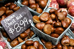 Chestnuts to roast on an open fire (Read2me) Tags: nyc she cye food market store brown many sign letters numbers thechallengefactory tcfunanimousoctober pregamewinner gamesweepwinner