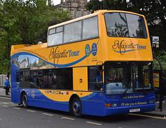 Lothian Buses 527: V527ESC (Cobalt271) Tags: lothian buses 527 v527esc dennis trident plaxton president majestic tours livery