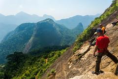 DSC_6026 (sergeysemendyaev) Tags: 2016 rio riodejaneiro brazil pedradagavea    hiking adventure best    travel nature   landscape scenery rock mountain    high ascend  carrasqueira risk  forest green  climbing
