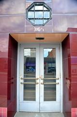 316&Half (T's PL) Tags: 31612 door glass johnsoncitytennessee johnsoncitytn nikond7000 nikon d7000 nikondslr red tamron16300mmf3563diiivcpzdmacro tamron16300mmf3563diiivcpzdmacrob016 tamron16300mm tamron nikontamron tennessee window