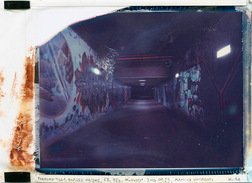 Tunnel Neureiderstrasse (Polaroid T669)