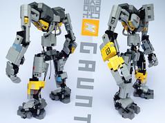GAUNT (m_o_n_k_e_y) Tags: scifi lego mech robot moc