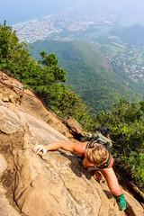 IMG_4971 (sergeysemendyaev) Tags: 2016 rio riodejaneiro brazil pedradagavea    hiking adventure best    travel nature   landscape scenery rock mountain    high forest  climbing risk dangerous