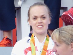 Ellie Simmonds (Suede Bicycle) Tags: olympics rio rioolympics rio2016 olympicgames heroeswelcome trafalgarsquare summerolympics olympicparade paralympics rioparalympics