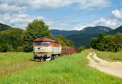 "751.126-4 (""SAPPHIRE"") Tags: outdoor hill landscape rail road railroad locomotive maina vlak train 7511264 751126 751 mn diesel 82251 slovakia vehicle mur cecaa ceckaa bardotka zamraen grumpy"