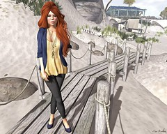 Feeling Like A Fish Out Of Water... (Maci Restless) Tags: mandala noodles exile saltwater ingenue slink izzies dontfreakout pinkoutfitters colormehof thesecretstore maxigossamer fameshed sldisneybound