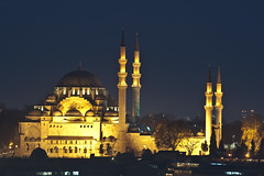Suleymaniye Mosque (Bahanick --(Next upload: Istanbul shots)) Tags: camera blue original light tower art colors up look composition contrast turkey dark for reflex raw torre foto with arte bright image sofia good picture shapes istanbul palace mosque spices egyptian saturation su ottoman bazaar visual emotions per curiosity colori topkapi harem con luce bosphorus romanic minarets cistern forme sensation galata hagia riflesso moschea composizione scuro sensazioni immagine turchia emozioni suleymaniye chiaro bosforo tonality costantinopoli egizio bisanzio visivo solimano