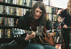 THE BLACK ANGELS (emily_quirk) Tags: chicago records austin keys march illinois keyboard broadway acoustic vic accordian psychedelic friday intimate lakeview instore reckless psych recklessrecords theblackangels blackangels victheatre victheater alexmaas christianbland stephaniebailey emilyquirk