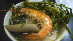 Delicious (markwr) Tags: holiday cooking dinner soup eating prawns vietnam noodles saigon hochiminhcity eatingout markwr markwhiterobinson mwhiterobinson