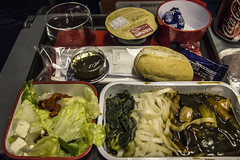 QF21 Qantas Flight Meal (JohnnieShene) Tags: canon eos rebel inflight meals flight sigma meal airways airlines qantas 1770 asiana t3i airway 284 600d 1770mm f284 qf21 oz107