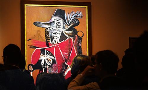 """Mosqueteros, perceptualización de Rembrandt Hamenzoon van Rijn (1640), deconstrucción minimalista de Henri Matisse (1903), transfiguración de Pablo Picasso (1969). • <a style=""""font-size:0.8em;"""" href=""""http://www.flickr.com/photos/30735181@N00/8746871371/"""" target=""""_blank"""">View on Flickr</a>"""
