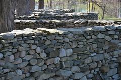 Storm King Wall (Joe Shlabotnik) Tags: sculpture art stone wall stormking andygoldsworthy 2013 april2013